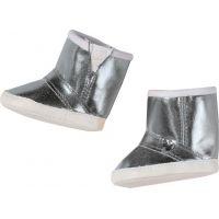 Baby Born 823880 Zimní boty - Stříbrná