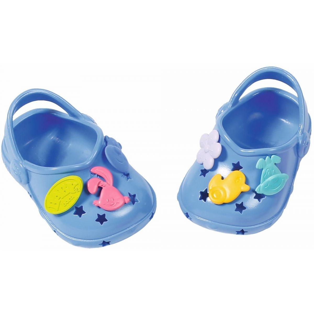BABY born® Gumové sandálky modré