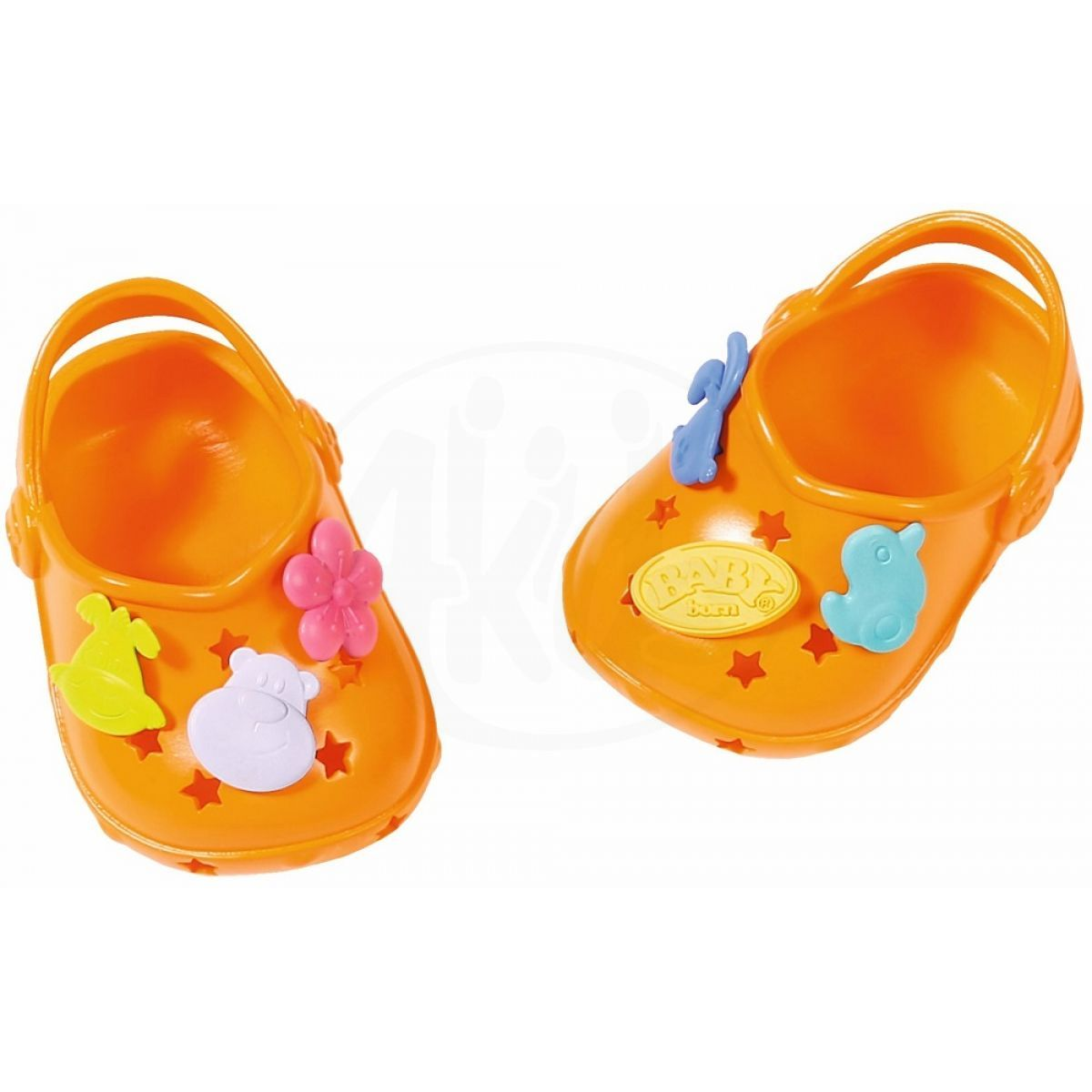a6b209a078 Zapf Creation BABY born Gumové sandálky 822067 varianta 3 43cm - Oranžové