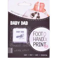 Baby Dab Barva na dětské otisky šedá