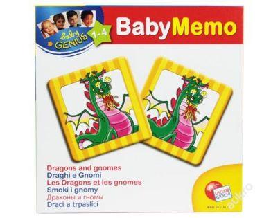 Baby genius baby pexeso - 3 druhy - Draci a trpaslíci