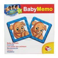 Baby genius baby pexeso - 3 druhy - Mláďata