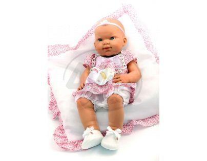 Nines 30410 - Baby Recien Nacido holčička plaváček 37cm