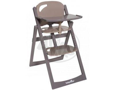 Babymoov Jídelní židlička Light Wood Taupe