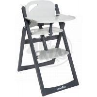 Babymoov Jídelní židlička Light Wood ZincAlu