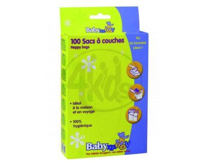 Babymoov 222701 - Jednorázové sáčky na použité plenky 100ks