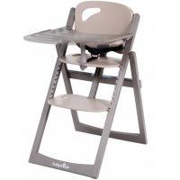Babymoov Jídelní židlička Light Wood Taupe 2