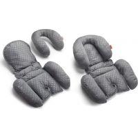 Babypack Polstrování do autosedačky nebo kočárku pro nejmenší šedé 2