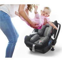 Babypack Polstrování do autosedačky nebo kočárku pro nejmenší šedé 4