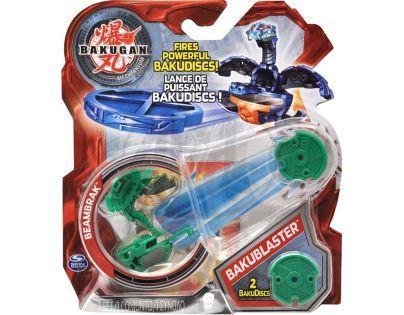 BAKUGAN 4 Bakustříleč disků BAKUBLASTER - Beambrak zelený
