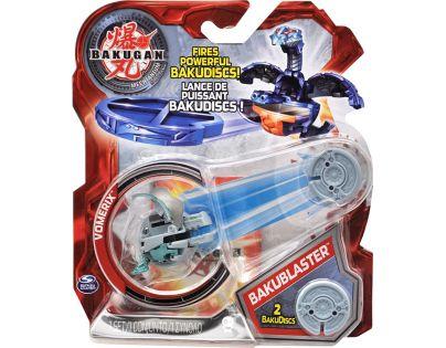 BAKUGAN 4 Bakustříleč disků BAKUBLASTER - Vomerix šedivý