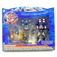BAKUGAN 44357 - BAKUGAN 4 Sada bojovníka Platinum EXTENSION PACK 3