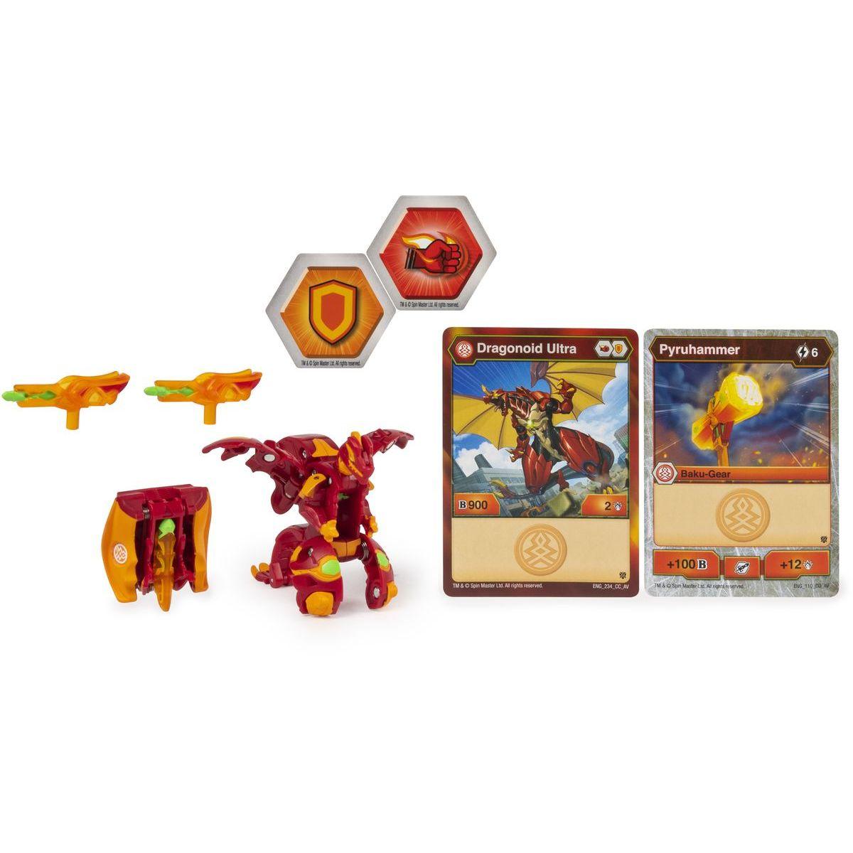 Bakugan bojovník s přídavnou výstrojí s2 Dragonoid