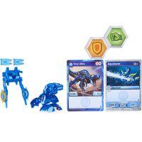 Bakugan bojovník s přídavnou výstrojí s2 Trox modrý