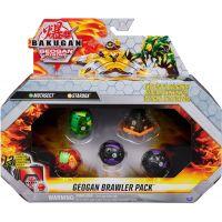 Bakugan sada 2ks Geogan a 3ks Bakugan S3 Mutasect - Stardox
