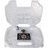 Bakugan sběratelský kufřík bílý průhledný 3