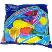 Balonek nafukovací Pastel 100 ks 2