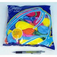Balonek nafukovací Pastel 100 ks 3