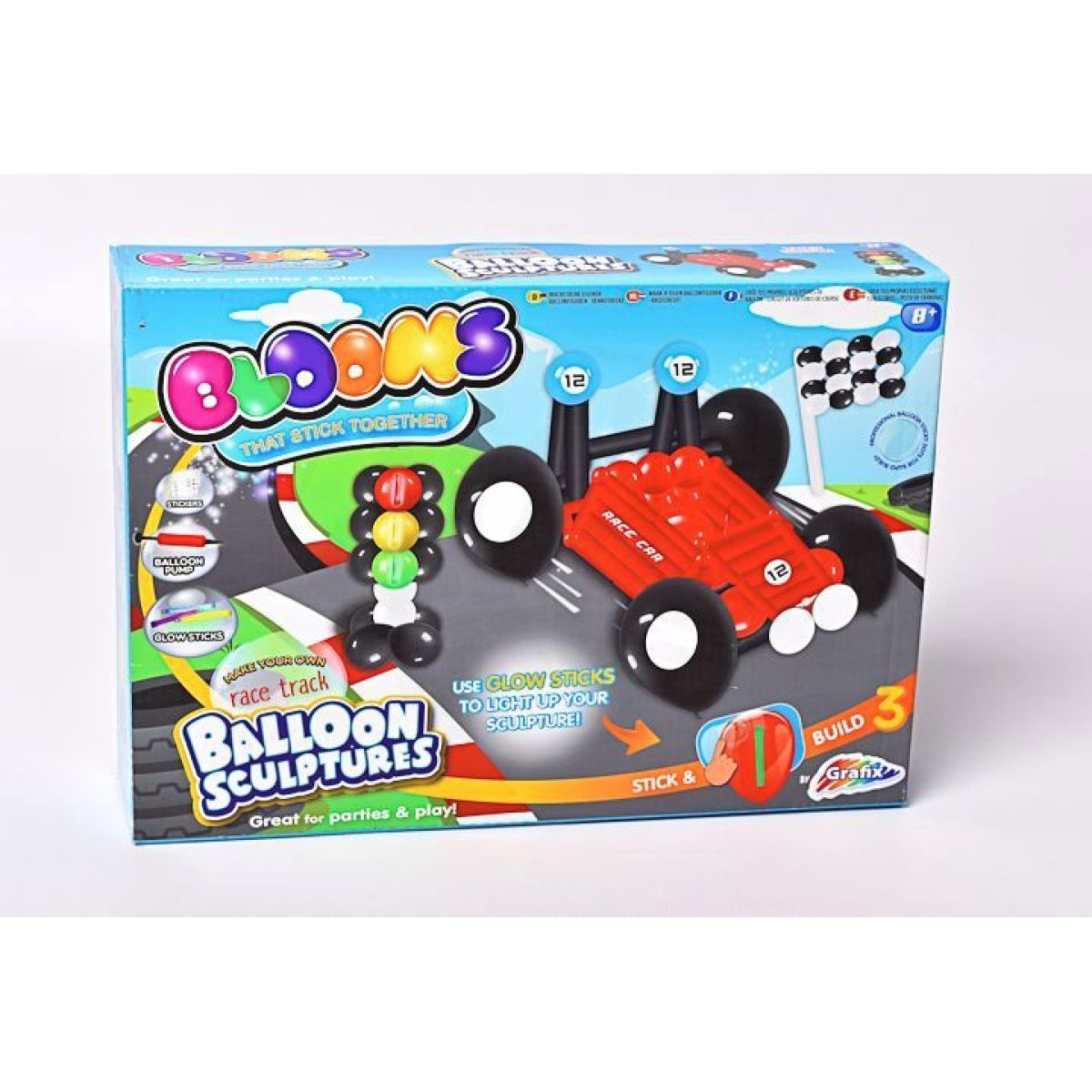 Mac Toys Balonky sada pro kluky