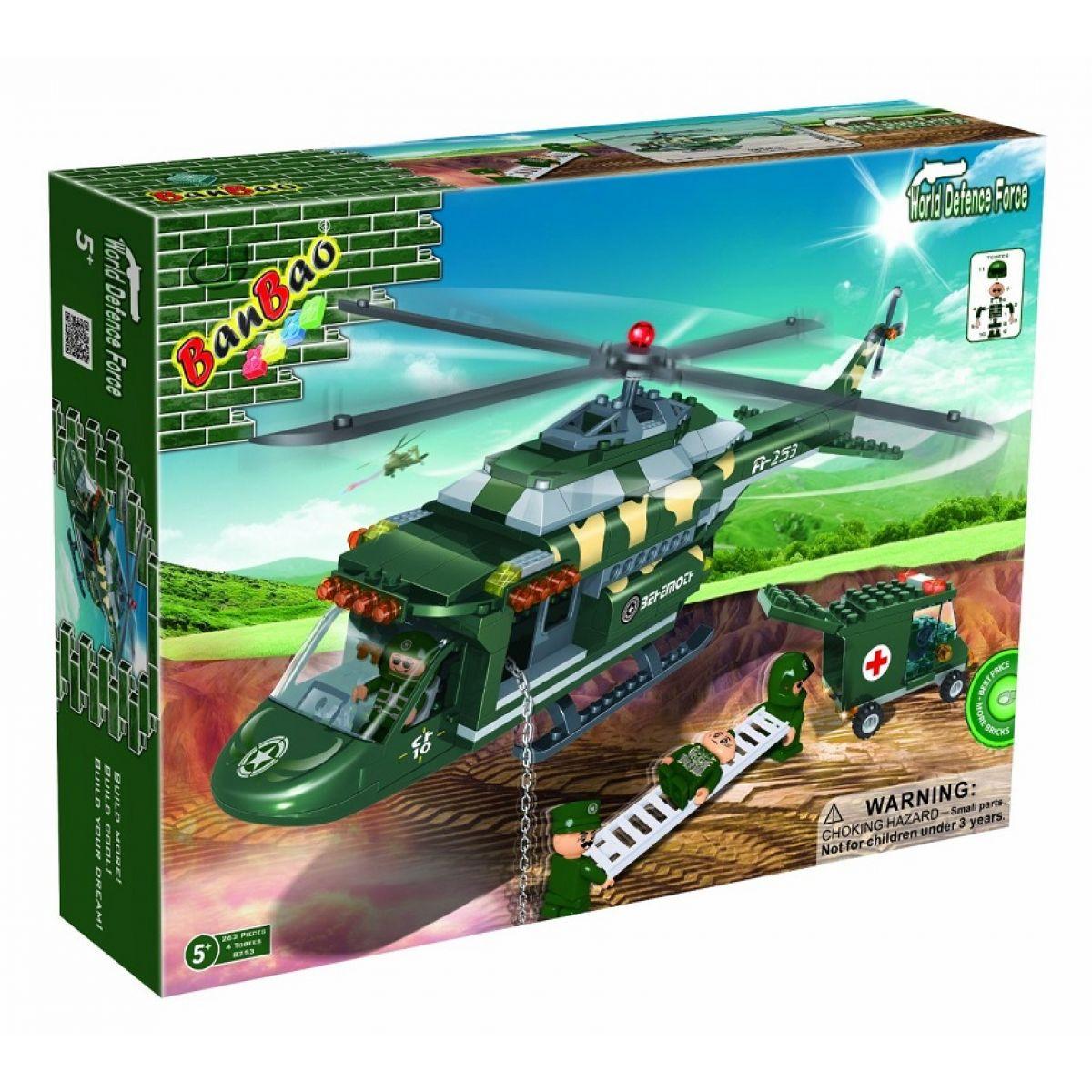 Banbao Armáda 8253 Vrtulník záchranářský