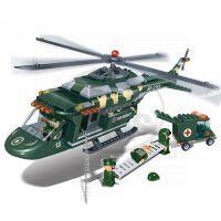 Banbao Armáda 8253 Vrtulník záchranářský 2