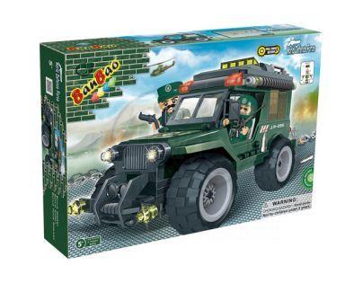 BanBao Armáda 8255 Jeep