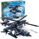 BanBao Armáda 8488 Vrtulník, vozidlo, vznášedlo 3 v 1 2