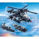BanBao Armáda 8488 Vrtulník, vozidlo, vznášedlo 3 v 1 3