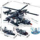 BanBao Armáda 8488 Vrtulník, vozidlo, vznášedlo 3 v 1 4