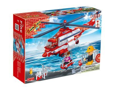 Banbao Hasiči 8315 Vrtulník