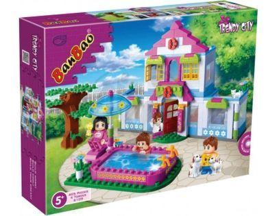 Banbao Město snů 6109 Domek s bazénem