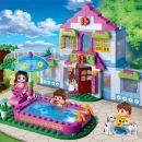 Banbao Město snů 6109 Domek s bazénem 3
