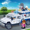 Banbao Policie 8343 Policejní hlídka 4