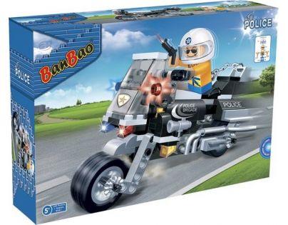 Banbao Policie 8351 Policejní motorka