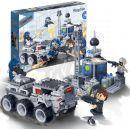 BanBao Tajní agenti 6209 Bojové vozidlo hrdinů 2