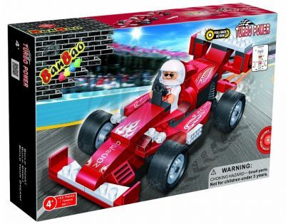 Banbao Závodní auta 8611 Auto Dragon