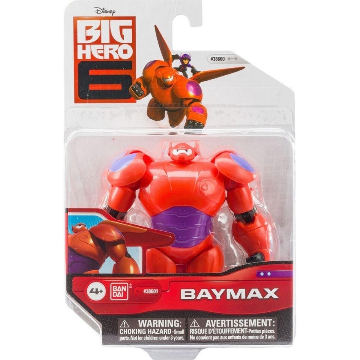 Bandai Velká Šestka Hlavní postavičky 10cm - Baymax