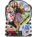 Barbie Barevný účes 4