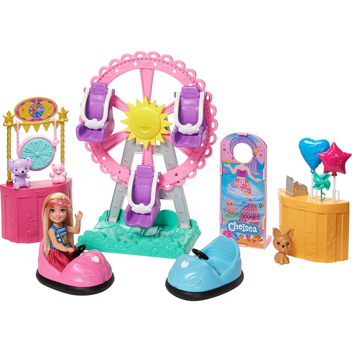 Barbie Chelsea na púti herné set
