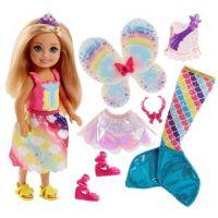 Barbie Chelsea Pohádkové oblečky mořská panna