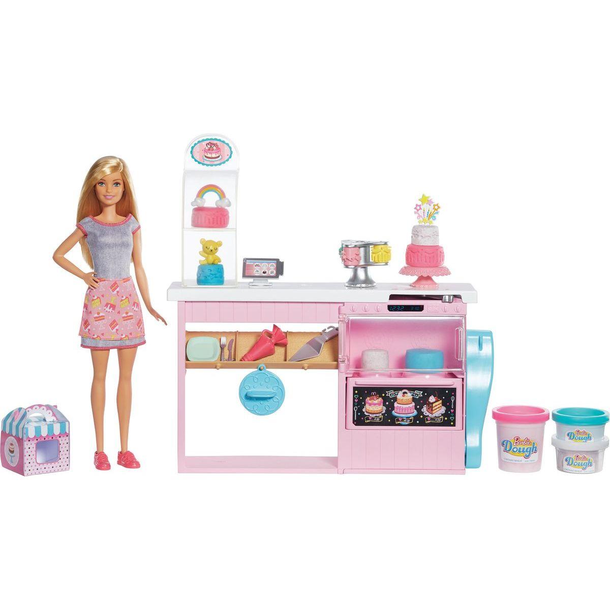Mattel Barbie herní set cukrářství