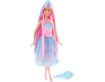 Mattel Barbie Dlouhovláska - Růžové vlasy