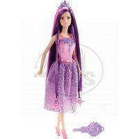 Barbie Dlouhovláska - Fialové vlasy