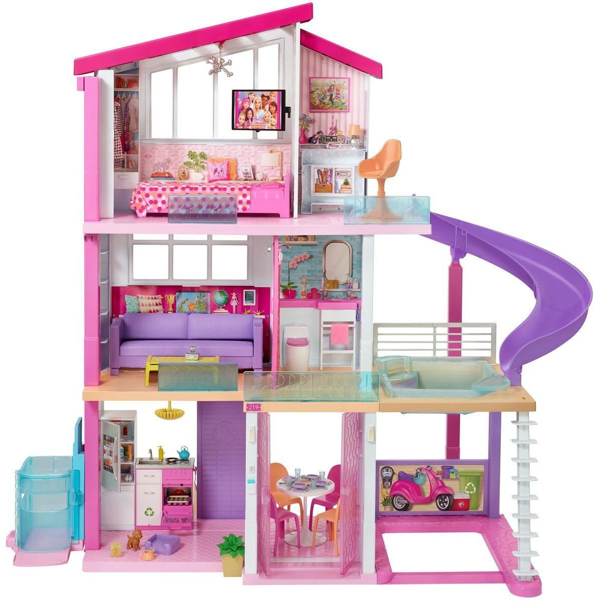 Barbie dom snov so šmykľavkou a novým výťahom