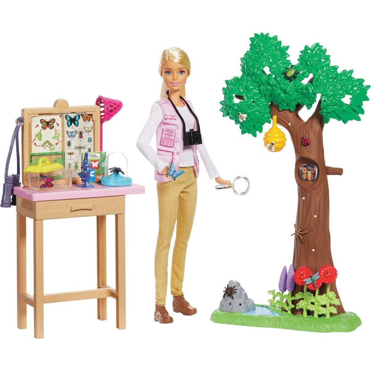 Mattel Barbie entomoložka National Geographic herní set