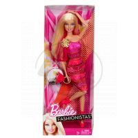 BARBIE Y5908 Fashionistas - X7868 Barbie růžová 4