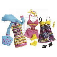 BARBIE N8322 Fashionistas Relax oblečky - X7856 Růžová 2