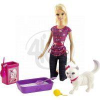 Barbie Hrací set - Koťátko