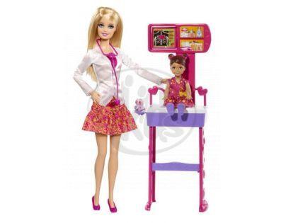 Barbie Hrací souprava - Dětská lékařka
