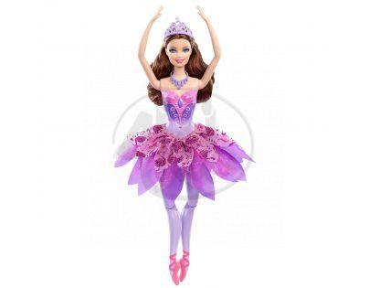 Barbie Kamarádka baletka - Odette fialová